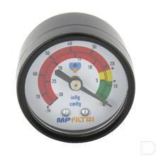 "Manometer - 76cmHg 1/8"" achteraansluiting productfoto"