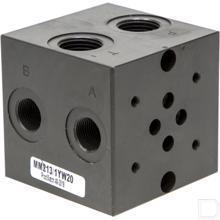 """Voetplaat MR3-1-G-Z NG6 80L/min 70mm lang 1/2"""" productfoto"""