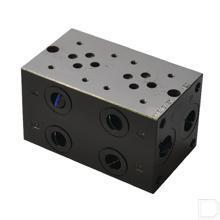 """Voetplaat MR3-2-G-Z NG6 80L/min 120mm lang 1/2"""" productfoto"""