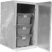 Metalen onderdelenkast 750x700x1020mm productfoto