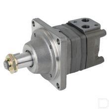 Wielmotor 200cc/omw conische as 1:10 Ø35mm met lekaansluiting productfoto