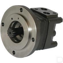 Orbitmotor OMSS 250cc/omw splineas 12t Ø32mm kort met lekaansluiting productfoto