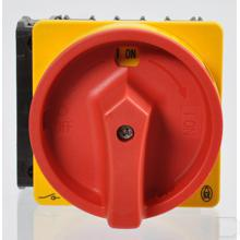 Hoofdschakelaar 3-polig + N 20A, NOOD-UIT-functie, 90°, Afsluitbaar in 0-stand, inbouw productfoto