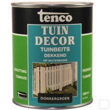Tuinbeits dekkend donker groen 1L productfoto