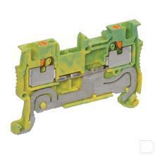 Aardklem 1,5mm geel/groen productfoto