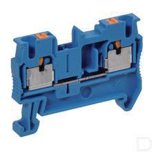 Aansluitklem 2,5mm blauw productfoto
