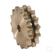 Plaatwiel Duplex 13 T - 3/8 productfoto