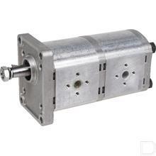 Tandwielpomp dubbel PLP20 16cc productfoto