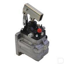 Handpomp type PMSD dubbelwerkend 12cc met tank 1liter productfoto