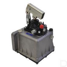 Handpomp type PMSD dubbelwerkend 45cc met tank 2liter productfoto
