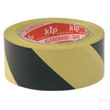 Tape PVC zwart/geel 33m productfoto