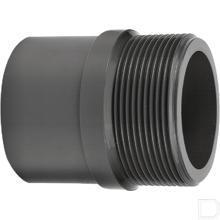 "Adaptermof 32mm / 40mm x 1"" buitendraad PVC-U productfoto"