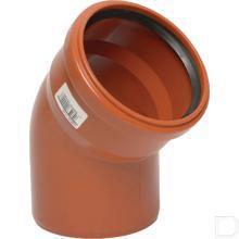 Bocht 30° 125x125mm PVC-U productfoto