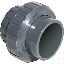 Koppeling PVC 32mm productfoto