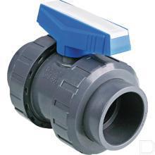 Kogelventiel PVC 50mm productfoto