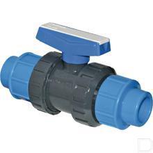 Kogelventiel PE comp. PVC 20mm productfoto
