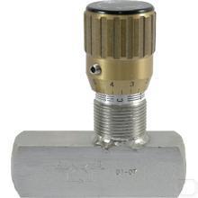 "Smoorterugslagventiel 3/4""BSP 90l/min 400bar RVS productfoto"