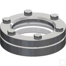 Peilglas staal productfoto