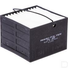 Brandstoffilter metaalvrij 76x76x54mm productfoto