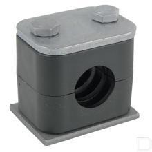 Pijpklem compleet 30mm 5stuks productfoto