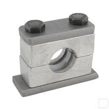 Aluminium leidingklem compleet C2 28mm productfoto