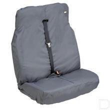 Zittinghoes dubbele passagiersstoel zwart productfoto