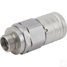 Snelkoppeling vrouwelijk BU 1/2 M22 15L productfoto