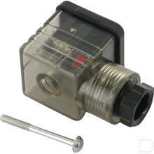Ventielstekker DIN43650-A 18mm 24V PG9 productfoto