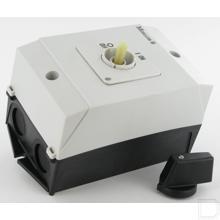 AAN-UIT-schakelaar 3-polig 20A, 90°, Opbouw productfoto