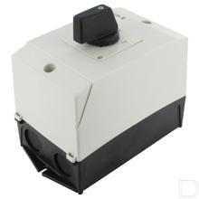 AAN-UIT-schakelaar 2-polig 20A, 90°, Opbouw productfoto