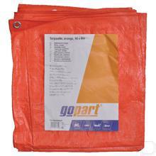 Dekkleed oranje 10x6m productfoto