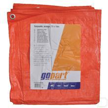 Dekkleed oranje 12x10m productfoto