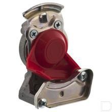 Luchtrem-koppelingskop open M22x1,5 rood productfoto