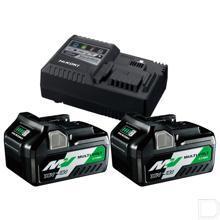 BoosterPack MultiVolt - 2 x 8Ah 18V/ 4Ah 36V + lader UC18YSL3 productfoto