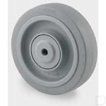 Los wiel Ø125mm polyamide/rubber 250kg productfoto
