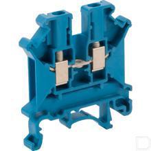 Aansluitklem 0,2-4mm² 5,2mm, blauw  productfoto