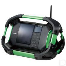 Digitale accuradio DAB+ 14,4-18V 2x7W 83,6dB productfoto