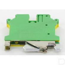 Aardklem 1 polig 0,14-6mm², 6,2mm, groen-geel productfoto