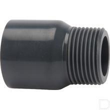 "Adaptermof 160mm x 6"" buitendraad PVC-U productfoto"
