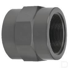 """Adaptermof 20mm x 3/8"""" binnendraad PVC-U productfoto"""
