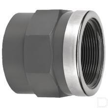 """Adaptermof 50mm x 1"""" binnendraad PVC-U productfoto"""