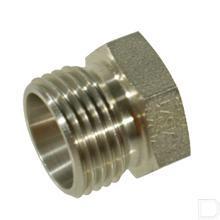 Plug M22x1,5 / 15L RVS productfoto