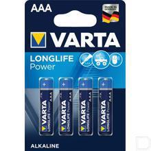 Batterij AAA 1,5V LR03  productfoto