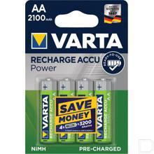 Batterij oplaadbaar 1,2V 2100mAh productfoto