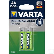 Batterij oplaadbaar T399 AA 1,2V 1600mAh productfoto
