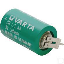 Batterij CR 1/2 AA - S - PCBS 3V productfoto