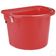 Emmer met beugel rood DB productfoto