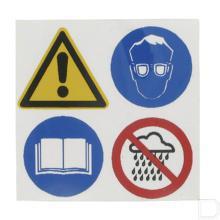 Sticker Electromaaier productfoto