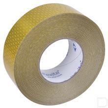 Reflecterende tape geel 50mm 50meter productfoto