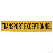 "Sticker 1250x250mm ""Transport exeptionnel"" productfoto"